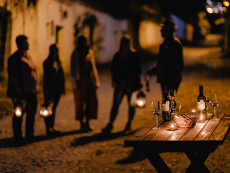 Kellergassen bei Nacht